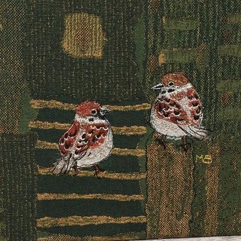 Two sparrows / Twee mussen
