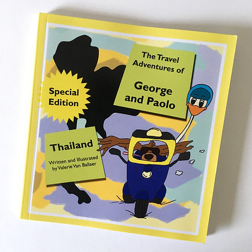 The Travel Adventures of George and Paolo: Thailand (Special Edition)