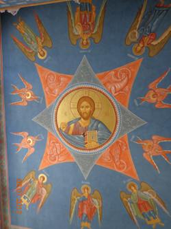 Воссоздание настенной росписи Введенского храма Иоанно-Введенского женского мона