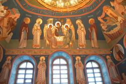 Настенная роспись в церкви