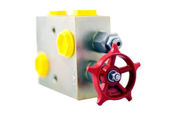 Pressure relief & bypass valve