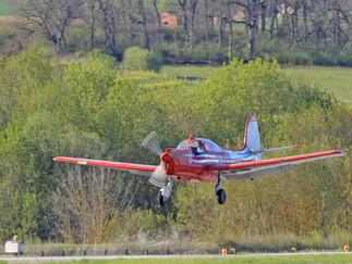 Le MS 733 n°134 vole de nouveau.