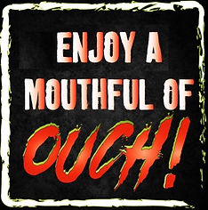 Mouthful of OUCH Framed.jpg