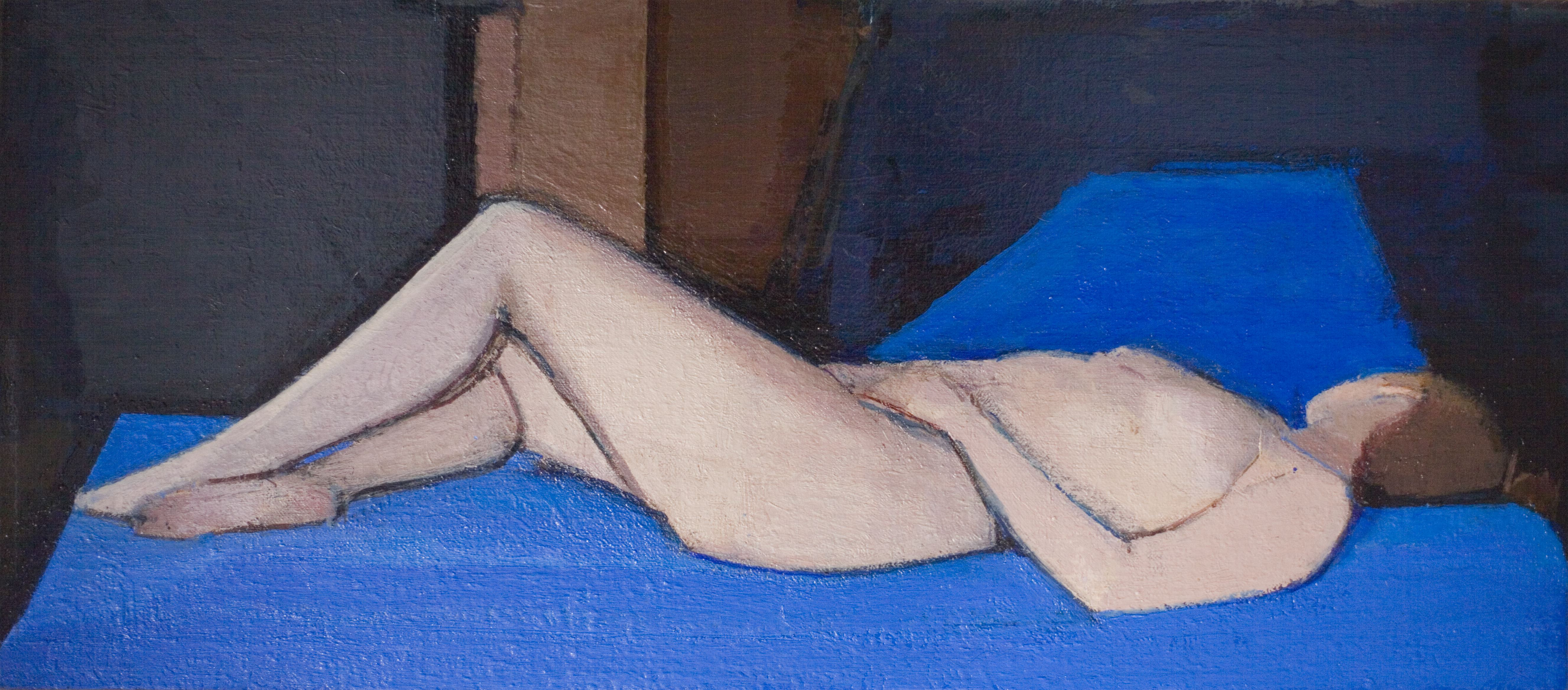 Giotto's Blue Nude, 2012-14