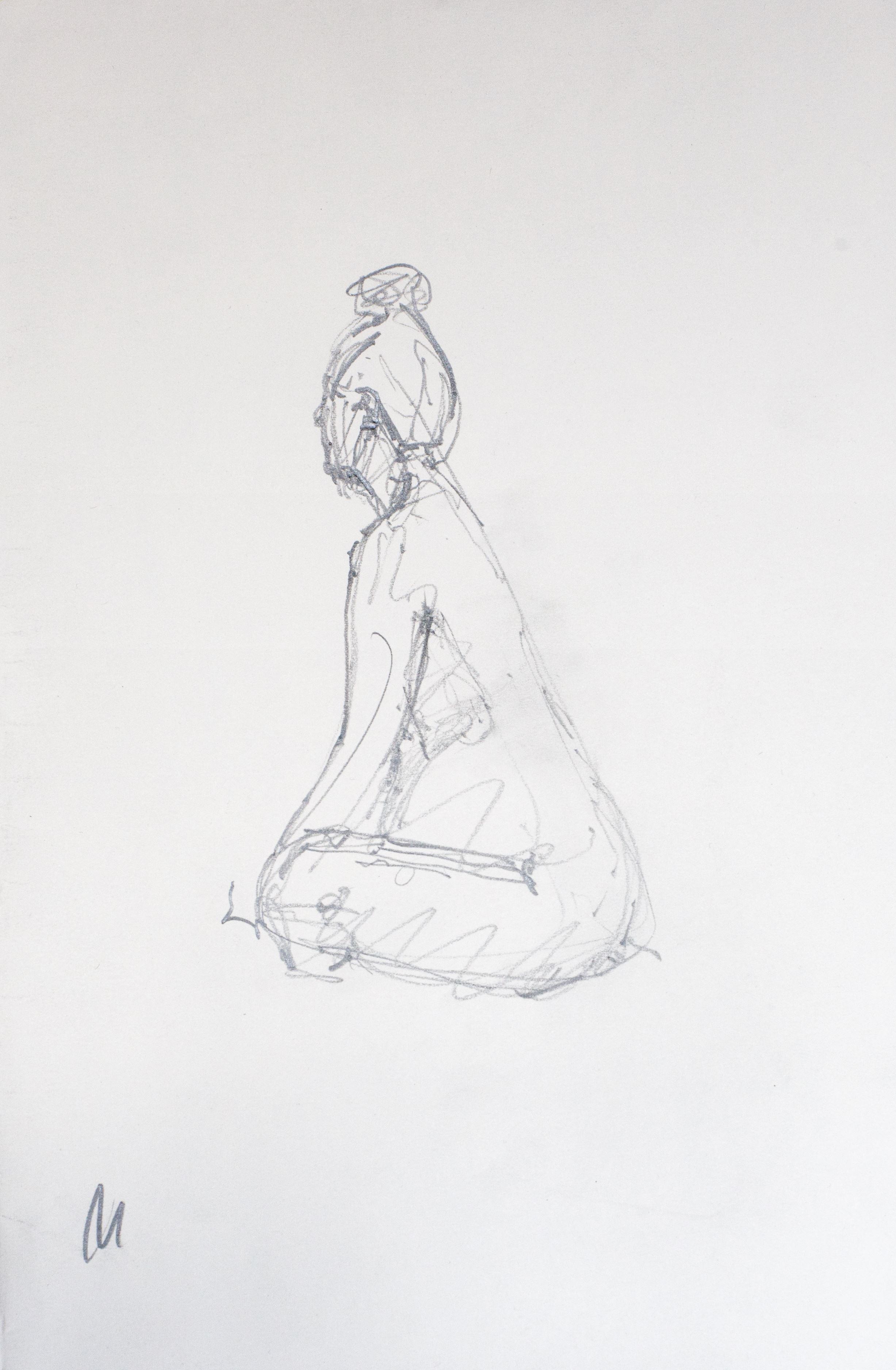 Pear nude, 2014