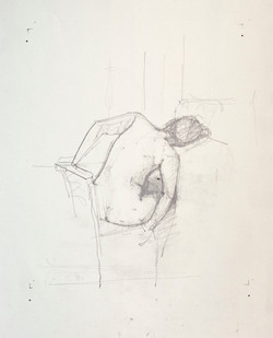 First study Reclining Back, 2013