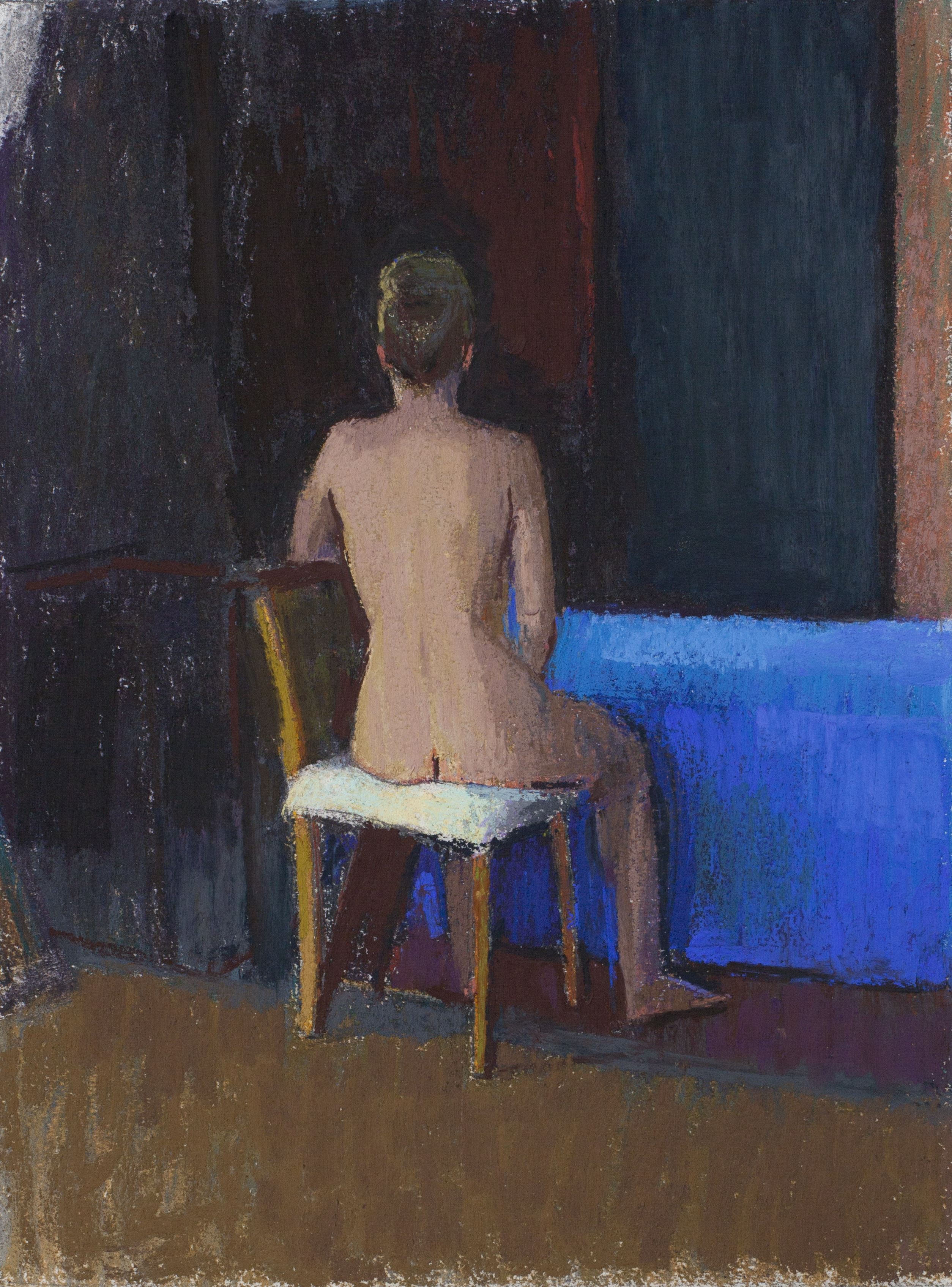 Seated Studio Nude, 2013-14