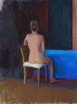 Seated Studio Nude, 2013-14