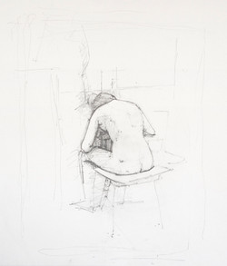 Study for Reclining Back III, 2013