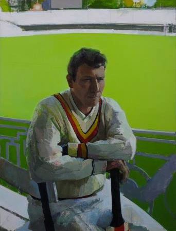 Portrait of Michael Atherton, 2000