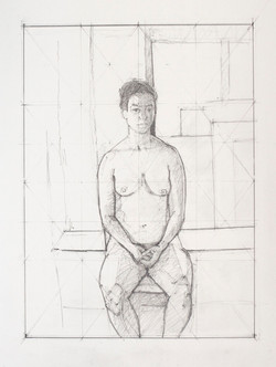Final study for La Femme, 2014