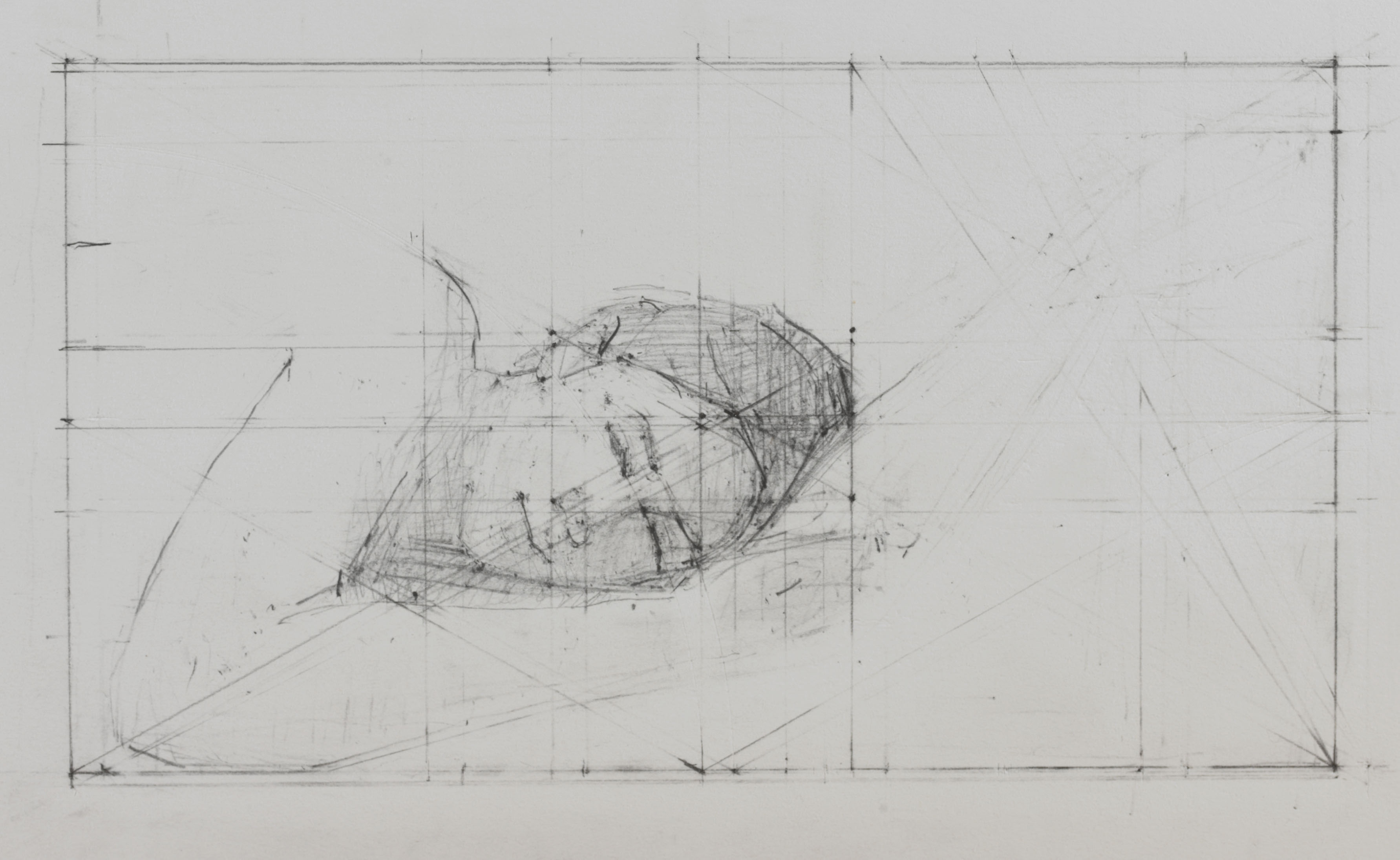 Reclining Head & Arm study, 2006