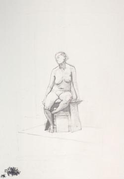 Seated twist, 2014