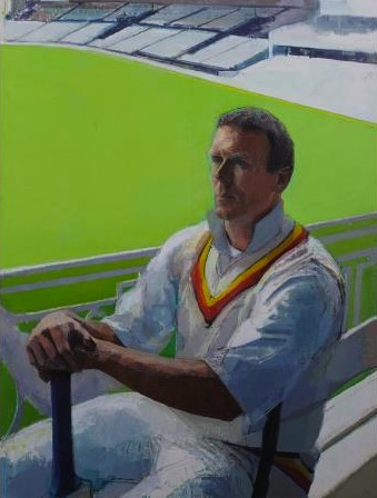 Portrait of Alec Stewart, 2000