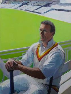 Portrait of Alec Stewart, 2000
