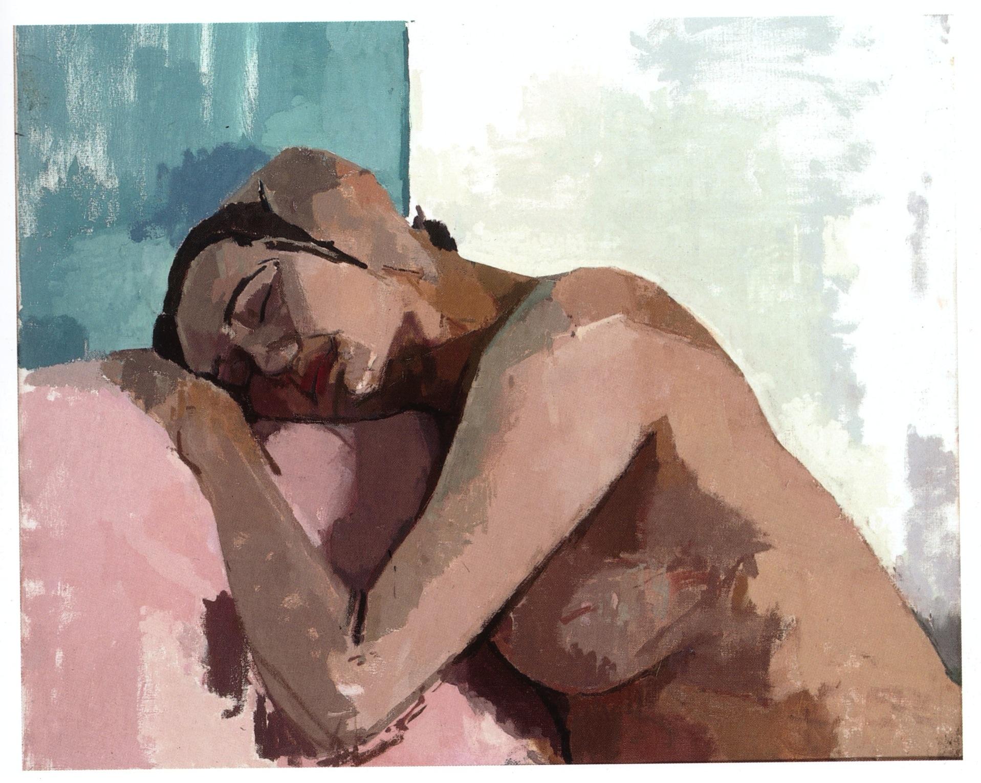 Sleeping Model, 1997