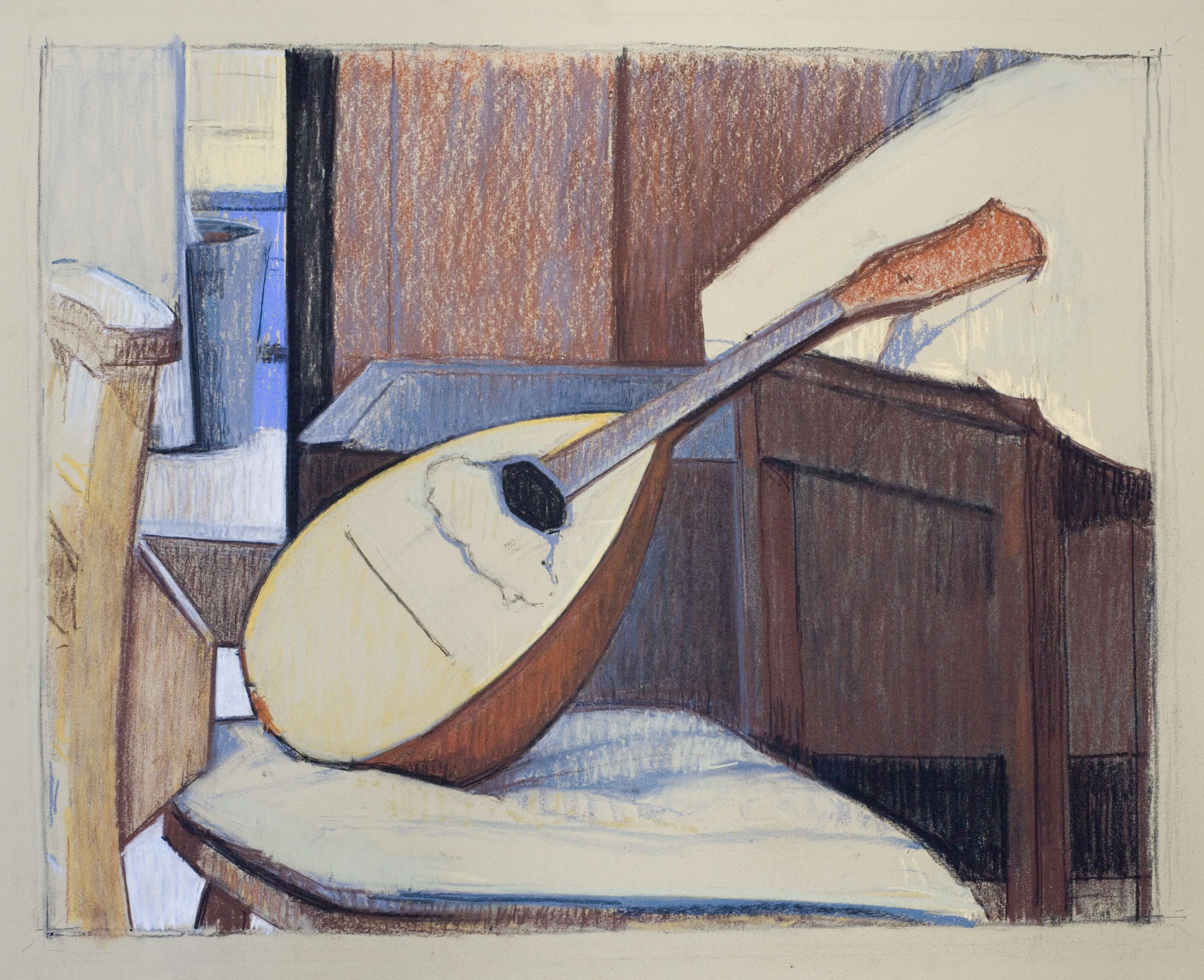Seated Mandolin, 2014