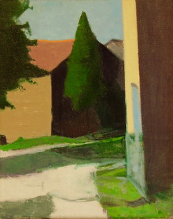 Cypress, Summer Morning, 1993-94