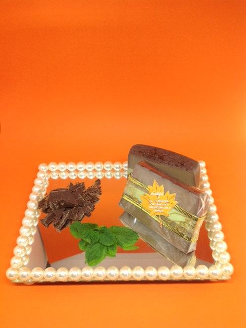 Sabonete de Chocolate com Menta