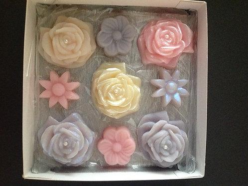 Conjunto de Rosas, Mini Flores e Mini Sol
