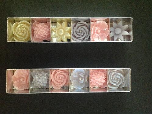 Conjunto de Mini Rosas, Hortência, Orquídea e Sol