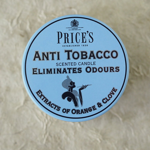 PRICE'S 'ANTI TOBACCO' CANDLE
