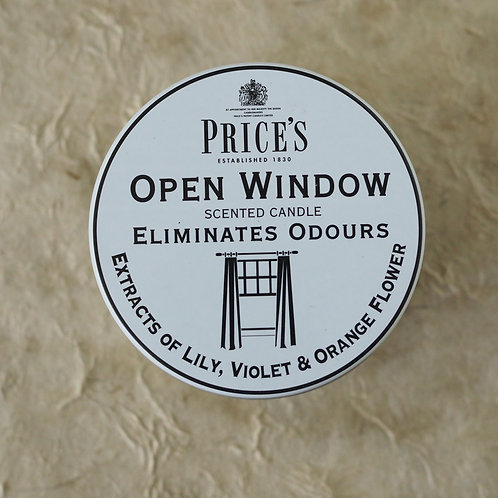 PRICE'S 'OPEN WINDOW' CANDLE