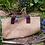 Thumbnail: 'Coolamon' Jute Garden Carrier / Leather Handles