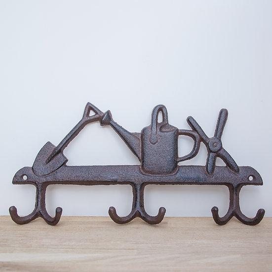 Cast Iron Garden Tools Hanger