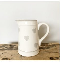Ceramic Heart Jug
