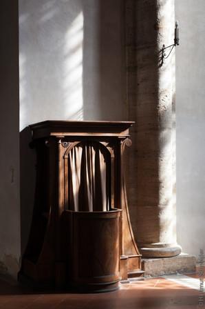 Beichtstuhl in Siena