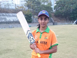 Shazeen's Double Ton is Highest score by Women Cricketer in Hong Kong
