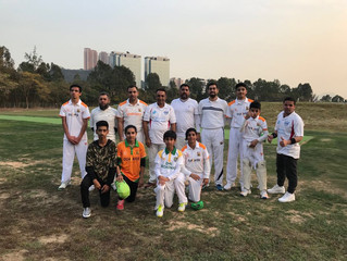 DLSW Trails New Cricket Ground in Hong Kong at Gin Drinkers Bay