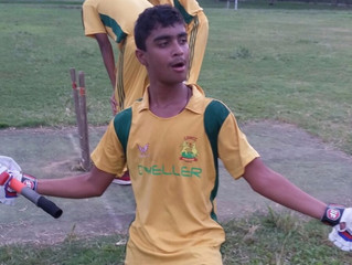 Ansh, Shail & Pratik score 50s in first round of Junior Cricket Matches