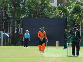 Hiren Patel's Ton and Rain dominate the weekend