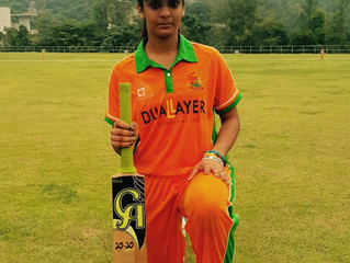 Shanzeen's smashing 114 and Prism's bowling guides DLSW Teams Wasps and Prism to thumping victories