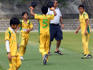 DLSW Junior Cricketers kick off their new Season