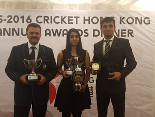 DLSW's Shanzeen and Ehsan win big prizes at HKCA Annual Awards Dinner, Baber named Captain of Hong K