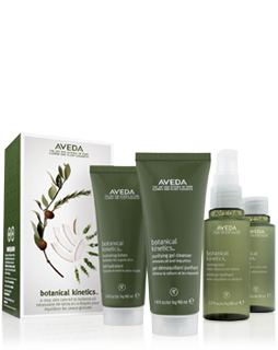 aveda botanical kinetics skincare starter set oily