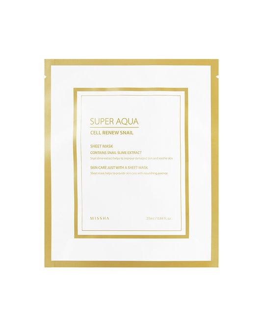MISSHA Super Aqua Cell Renew Snail Hydro Gel Mask
