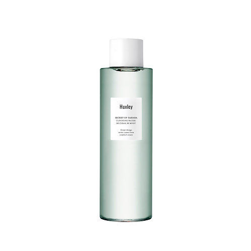 HUXLEY Cleansing Water ; Be Clean, Be Moist