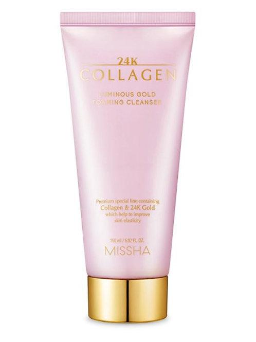 MISSHA 24K Collagen Luminous Gold Foaming Cleanser