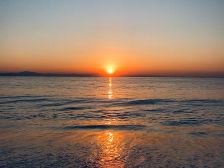 朝の一コマ・人の波動で癒されたおはなし。