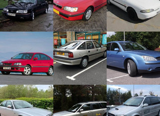 All my private hire vehicles from the past to present didn't realise I've had so many!!!