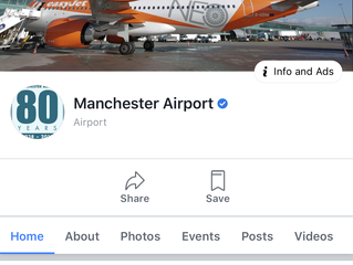 This is this is what happens when Manchester Airport dont like what you're saying!!!