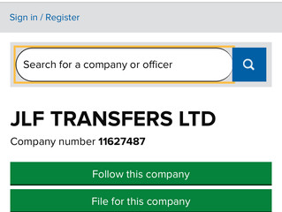 JLF Transfers has gone LTD!!!