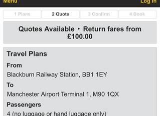 Return bookings online @ JLF Transfers.