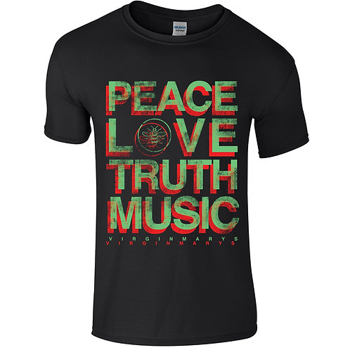 PEACELOVETRUTHMUSIC TEE