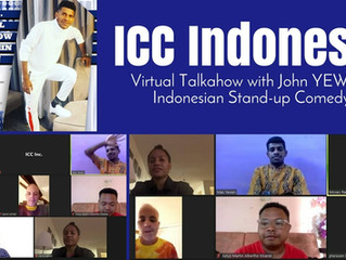 ICC Talkshow with Indonesian Stand Up comedy Stars John Yewen
