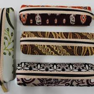 BATIK PENCIL CASE (COLORS AND MOTIVES VARY)